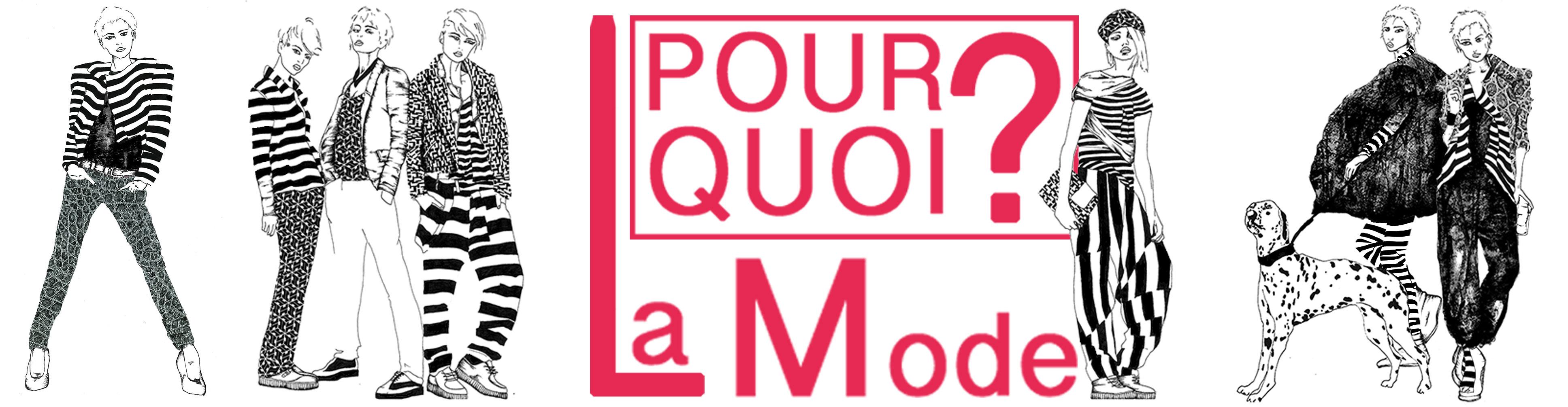 Couture Illustration de la bannière: PourQuoi la mode