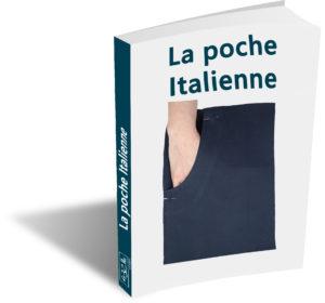 e-book sur la poche Italienne, patronnage et guide du cours