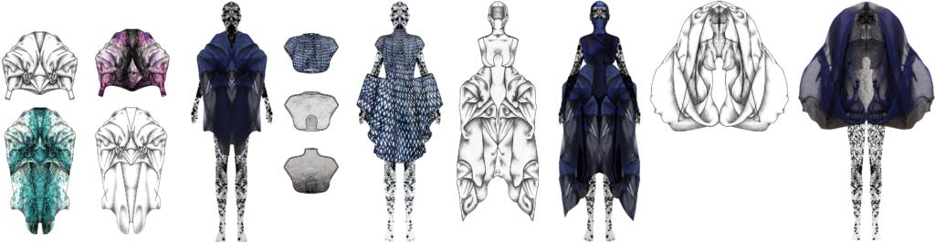 apprendre le stylisme bannière illustrations dossier de style