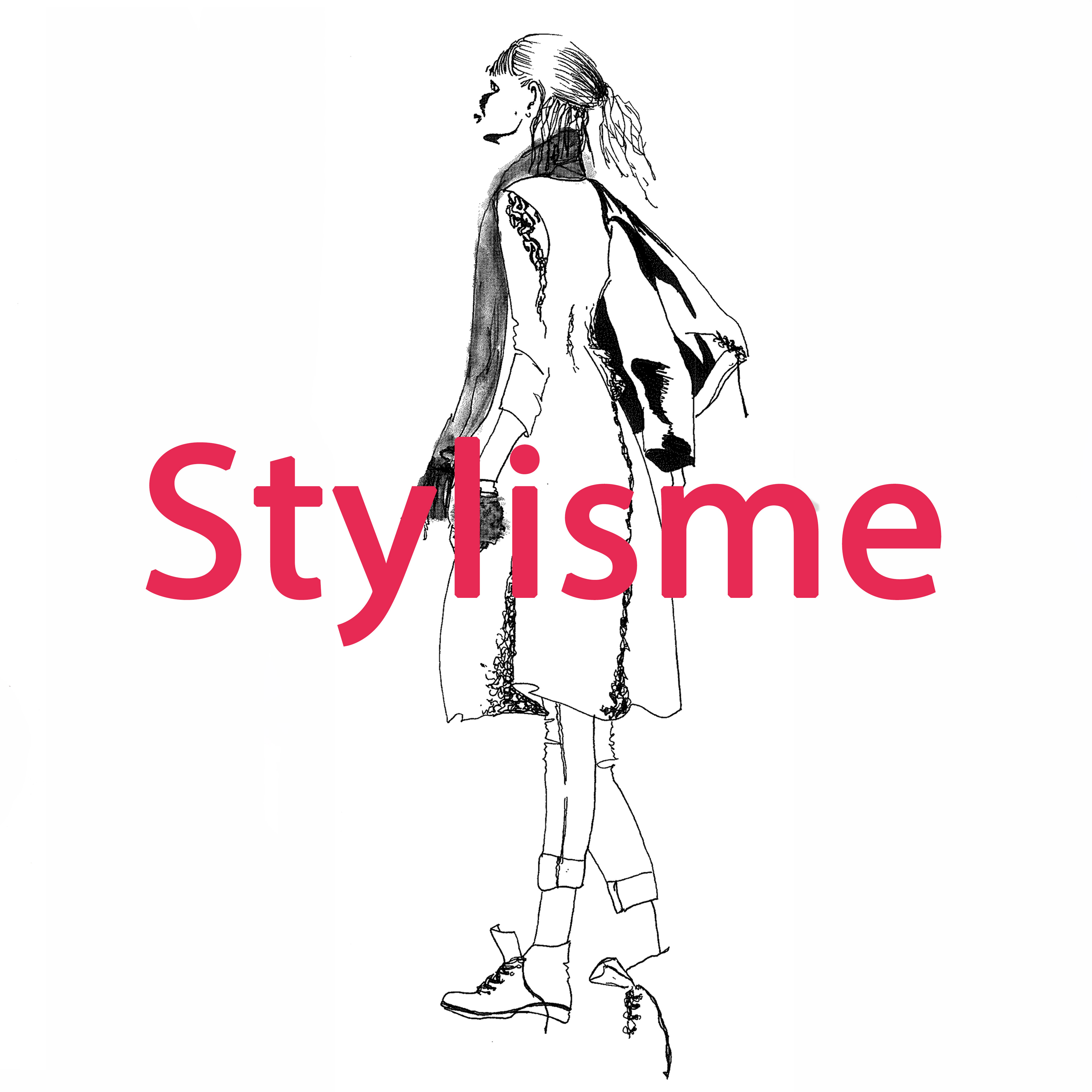 illustration silouette de mode