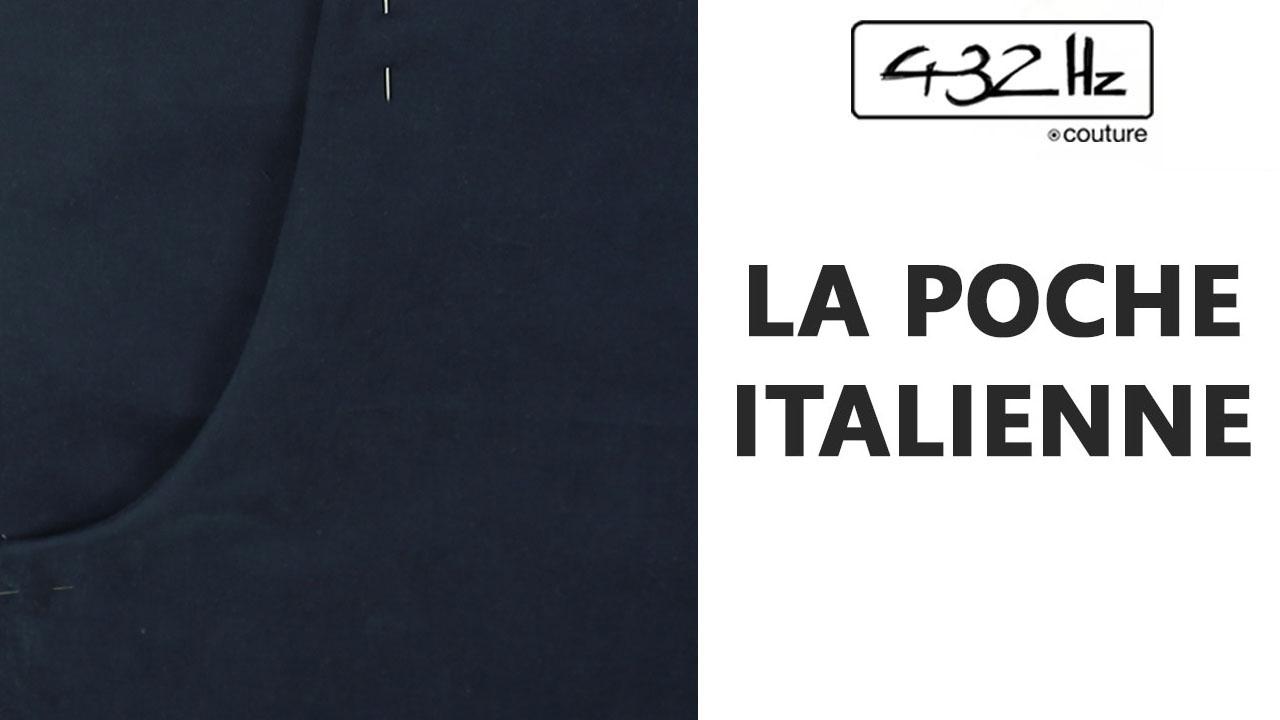 miniature photo et texte: La poche italienne. Cours vidéo de couture